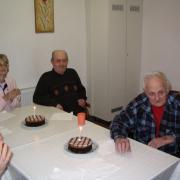 Idősek otthona születésnap