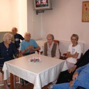 Nyugdíjas otthon születésnap