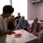 Idősek otthona: születésnap