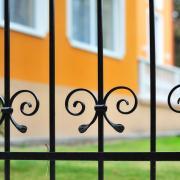 Idősek otthona: kerítés